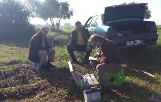 arazide jeofizik etüt çalışmamız